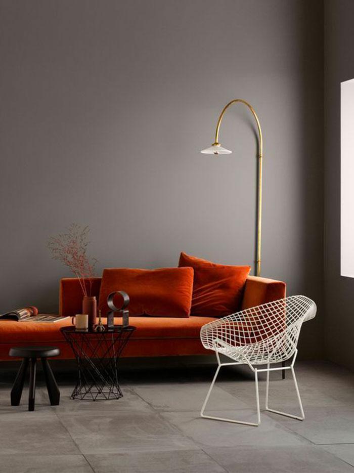 Il grigio nell'interior design