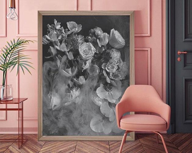 Il rosa nell'interior design